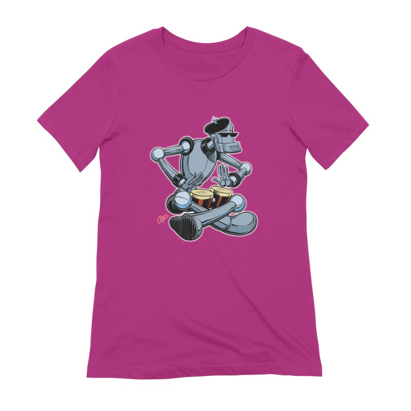 ROBEATNIK Women's Extra Soft T-Shirt by The Art of Coop