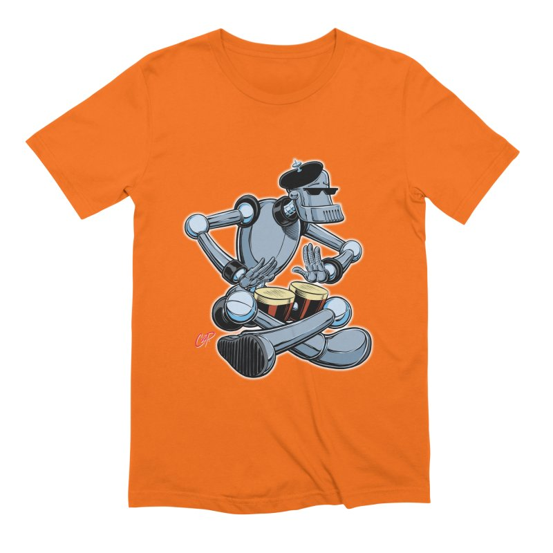 ROBEATNIK Men's Extra Soft T-Shirt by The Art of Coop