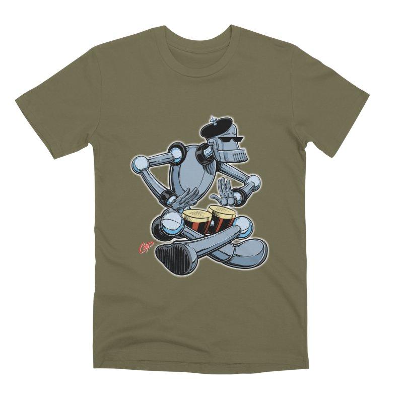 ROBEATNIK Men's Premium T-Shirt by The Art of Coop