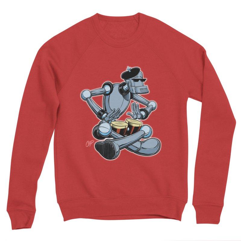 ROBEATNIK Men's Sponge Fleece Sweatshirt by The Art of Coop