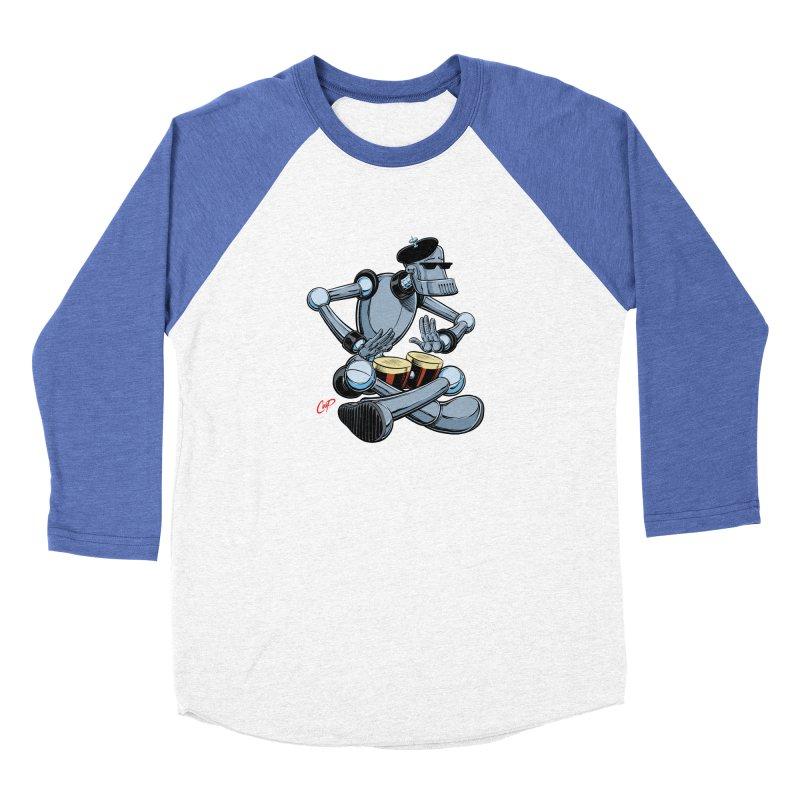 ROBEATNIK Women's Baseball Triblend Longsleeve T-Shirt by The Art of Coop