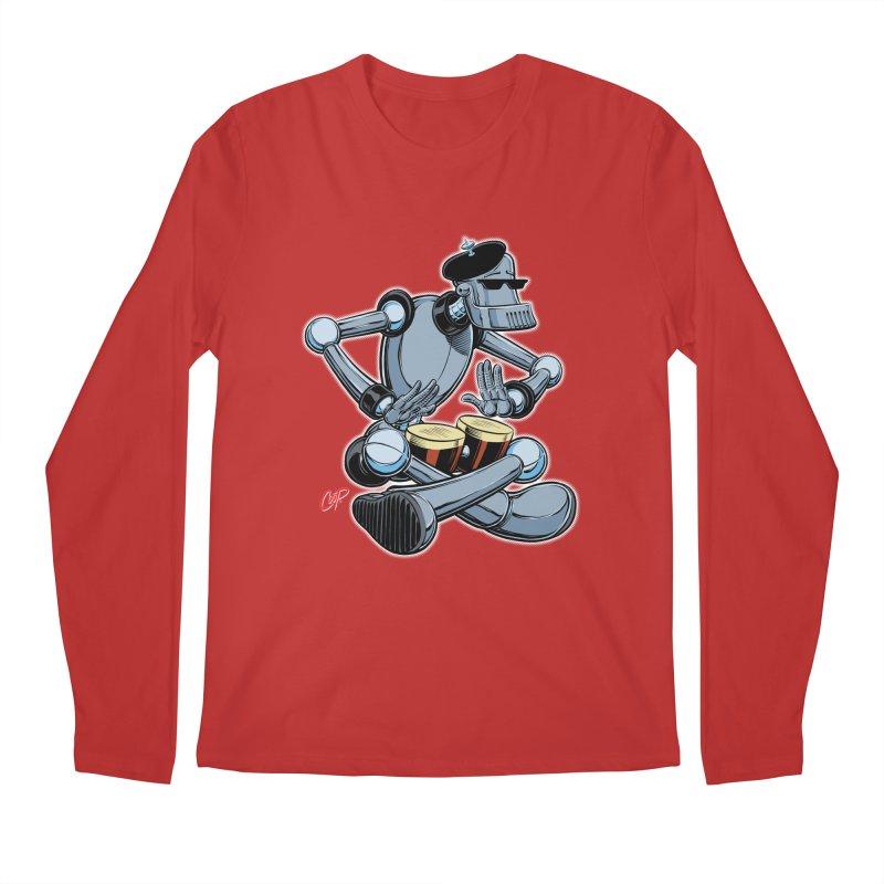 ROBEATNIK Men's Regular Longsleeve T-Shirt by The Art of Coop