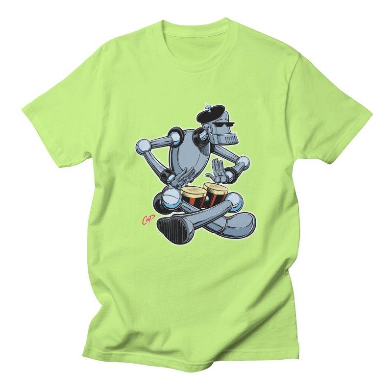 ROBEATNIK Men's Regular T-Shirt by The Art of Coop