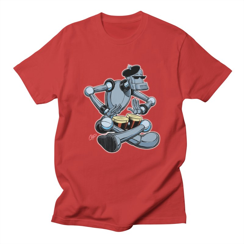 ROBEATNIK Women's Regular Unisex T-Shirt by The Art of Coop