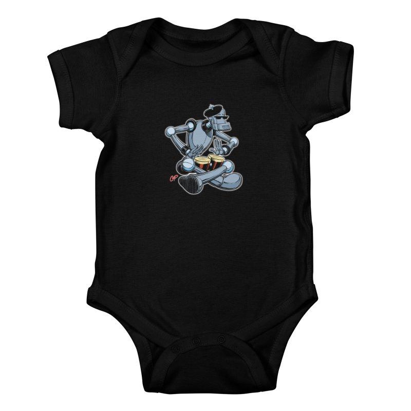 ROBEATNIK Kids Baby Bodysuit by The Art of Coop