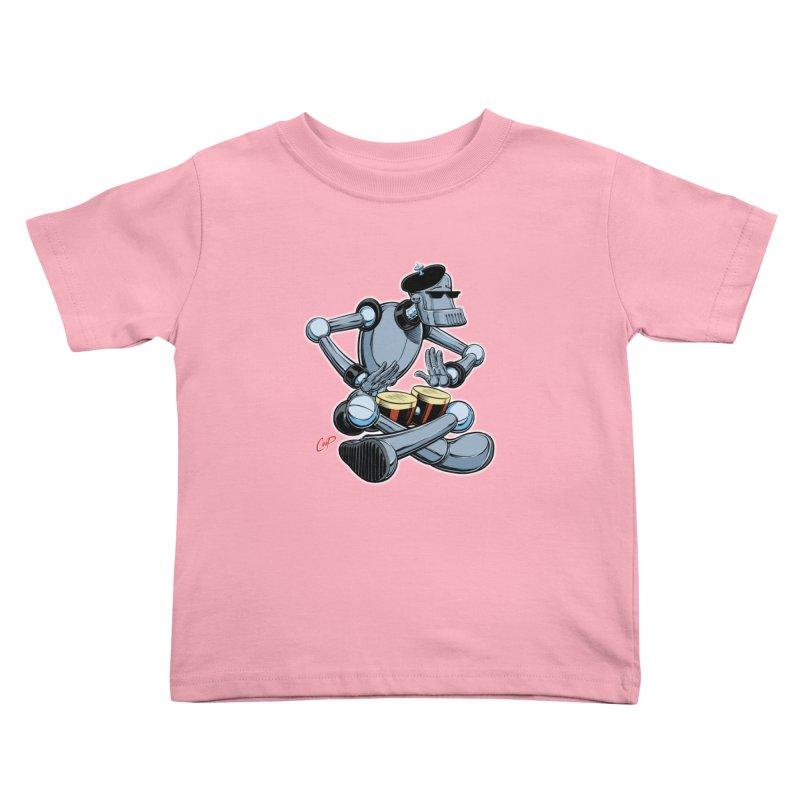 ROBEATNIK Kids Toddler T-Shirt by The Art of Coop