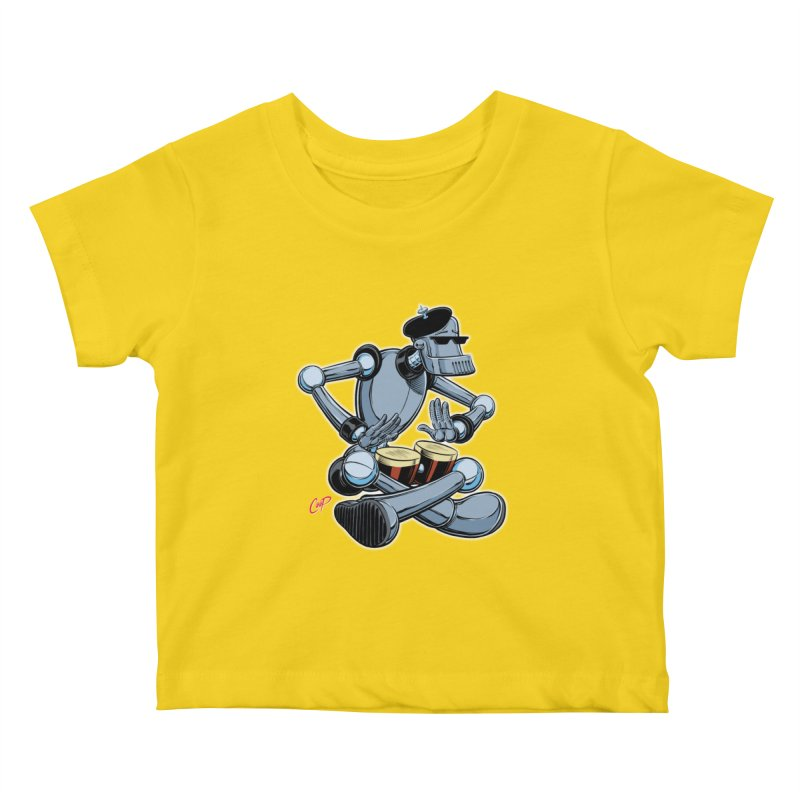 ROBEATNIK Kids Baby T-Shirt by The Art of Coop