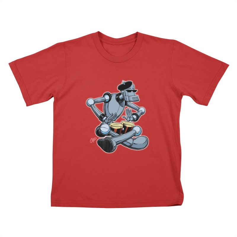 ROBEATNIK Kids T-Shirt by The Art of Coop