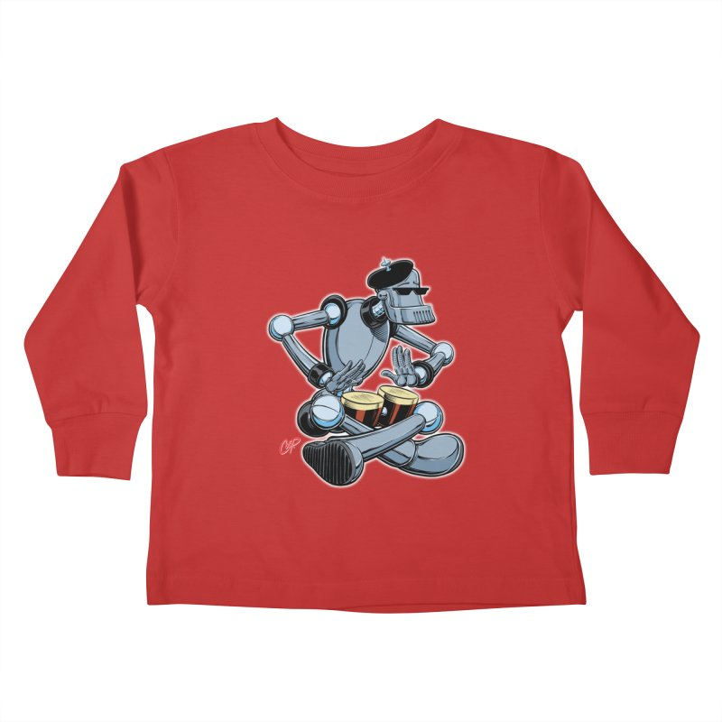 ROBEATNIK Kids Toddler Longsleeve T-Shirt by The Art of Coop