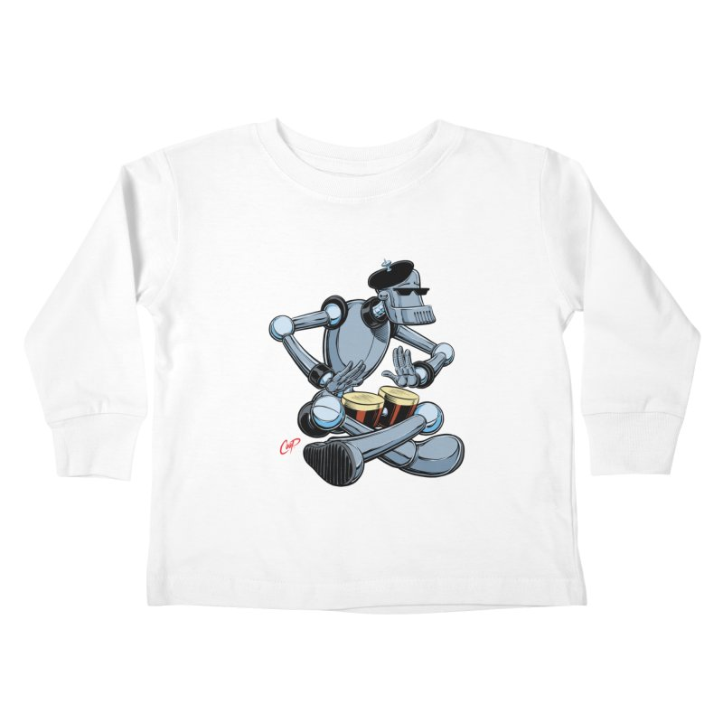 ROBEATNIK Kids Toddler Longsleeve T-Shirt by The Art of Coop