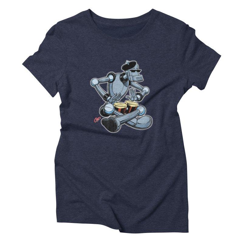 ROBEATNIK Women's Triblend T-Shirt by The Art of Coop