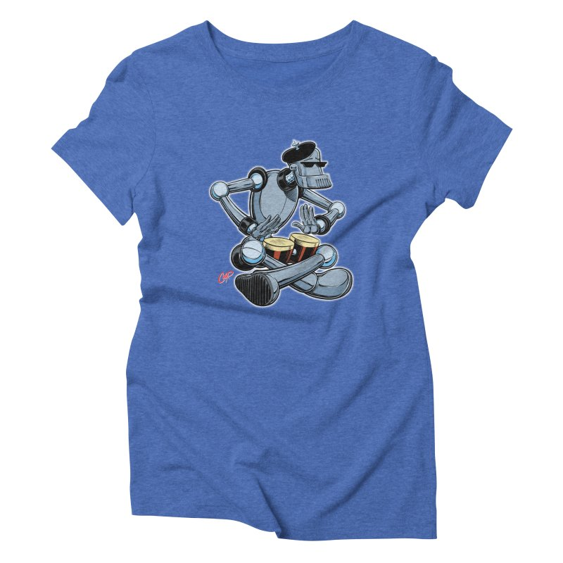 ROBEATNIK Women's Triblend T-Shirt by The Art of Coop