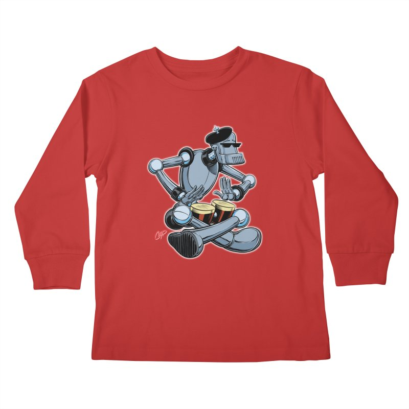 ROBEATNIK Kids Longsleeve T-Shirt by The Art of Coop