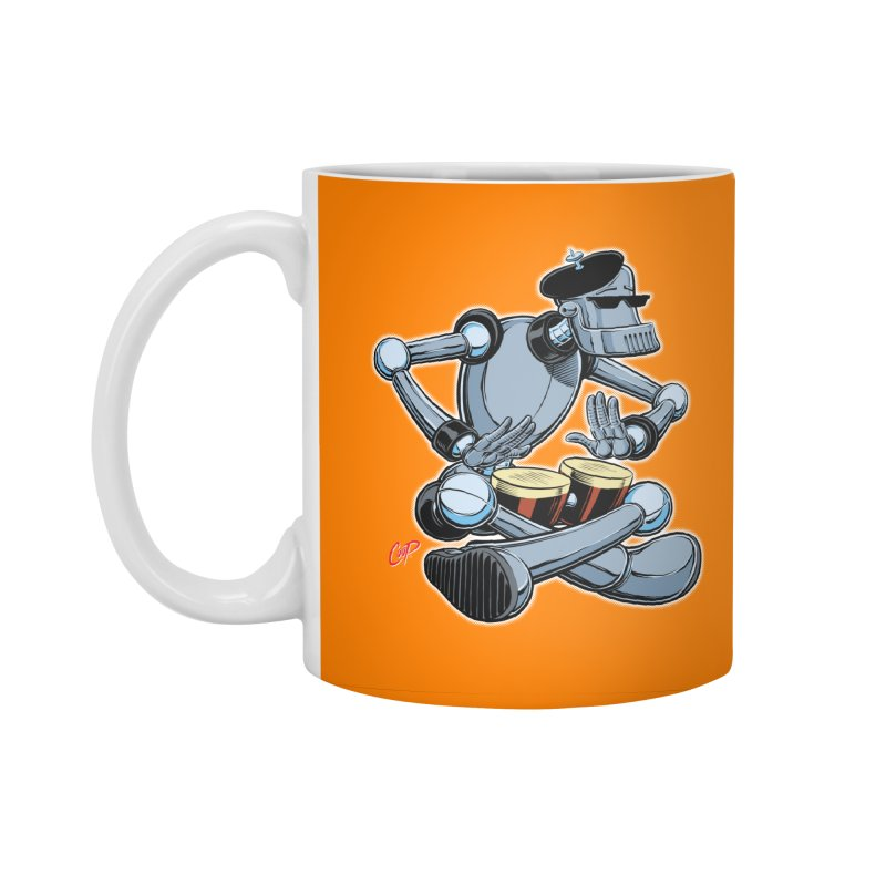 ROBEATNIK Accessories Standard Mug by The Art of Coop