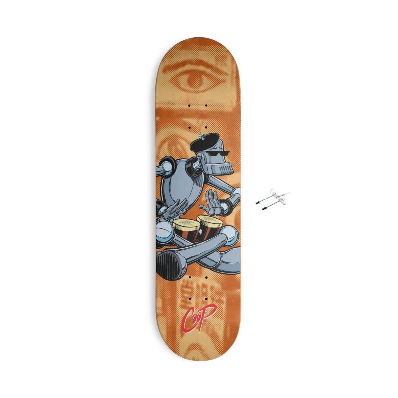 ROBEATNIK Accessories With Hanging Hardware Skateboard by The Art of Coop
