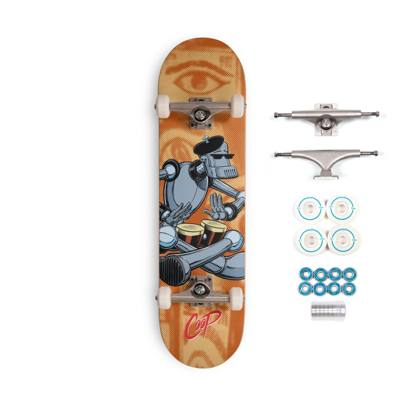 ROBEATNIK Accessories Complete - Basic Skateboard by The Art of Coop