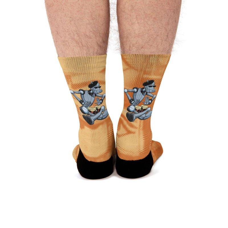ROBEATNIK Men's Socks by The Art of Coop