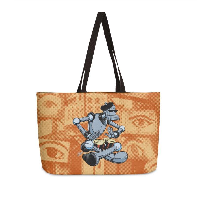 ROBEATNIK Accessories Weekender Bag Bag by The Art of Coop