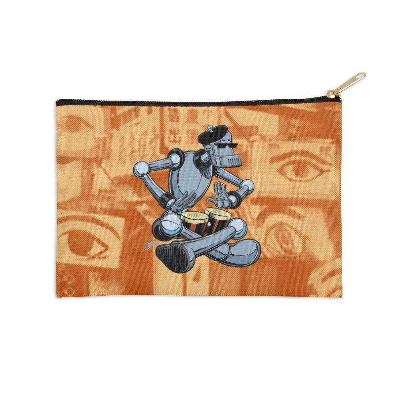ROBEATNIK Accessories Zip Pouch by The Art of Coop