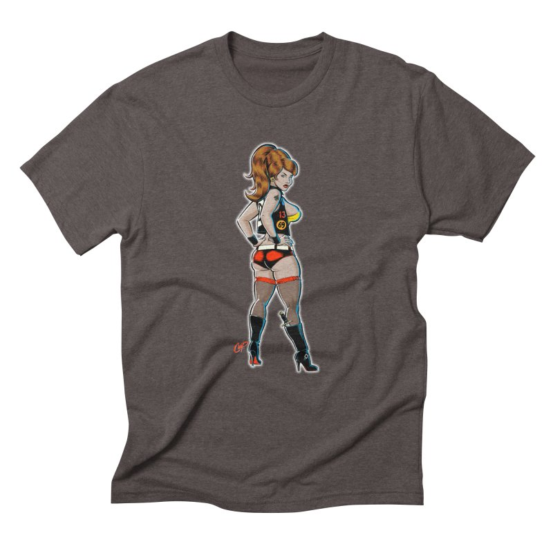 CEE CEE RYDER Men's Triblend T-Shirt by The Art of Coop