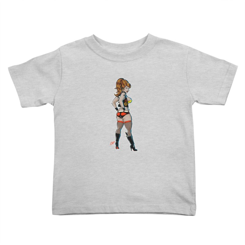 CEE CEE RYDER Kids Toddler T-Shirt by The Art of Coop