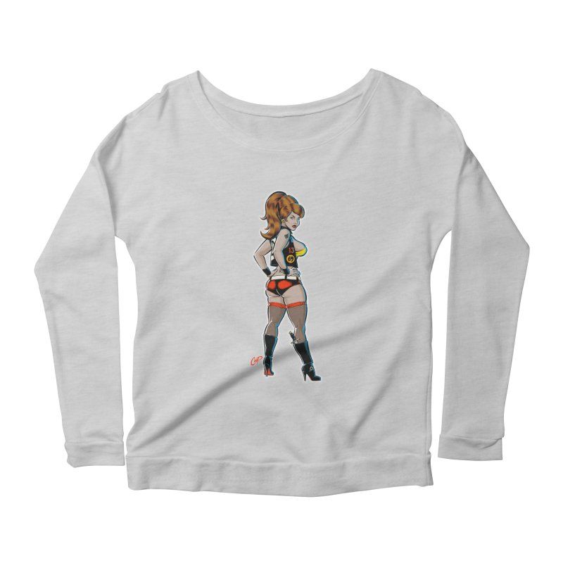 CEE CEE RYDER Women's Scoop Neck Longsleeve T-Shirt by The Art of Coop