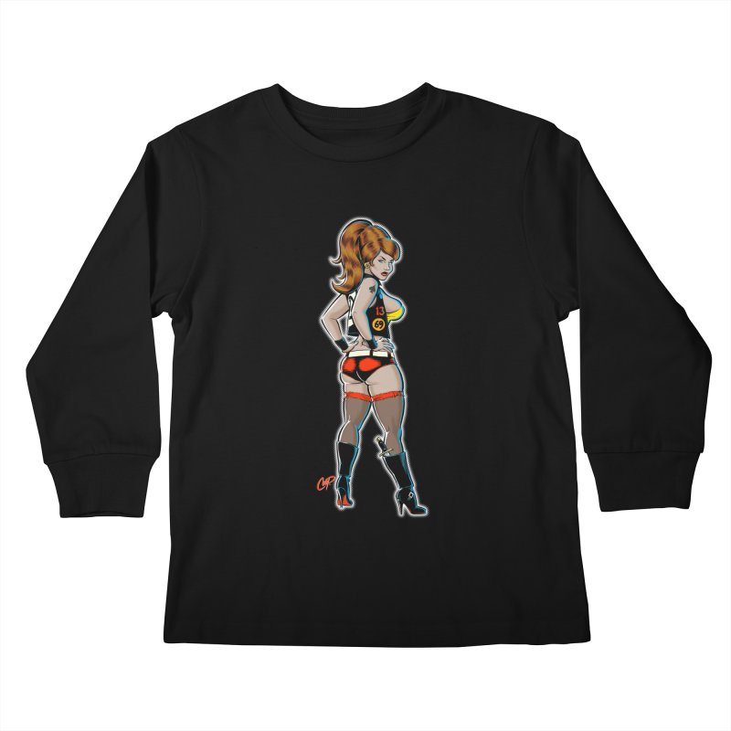 CEE CEE RYDER Kids Longsleeve T-Shirt by The Art of Coop