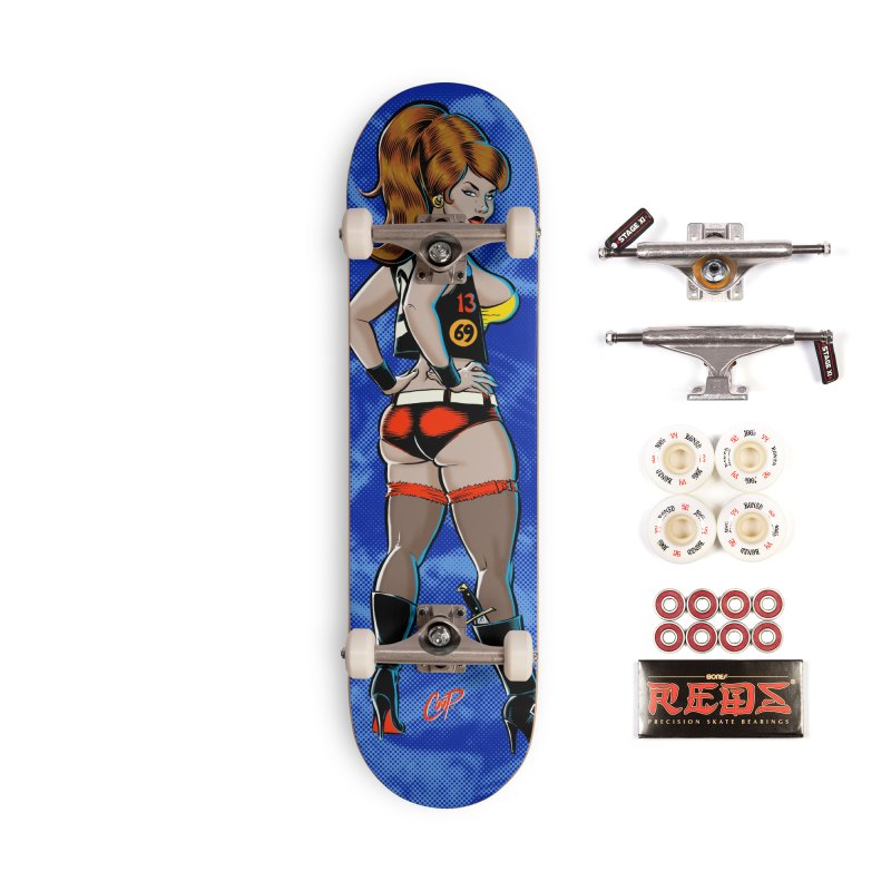 CEE CEE RYDER Accessories Complete - Pro Skateboard by The Art of Coop