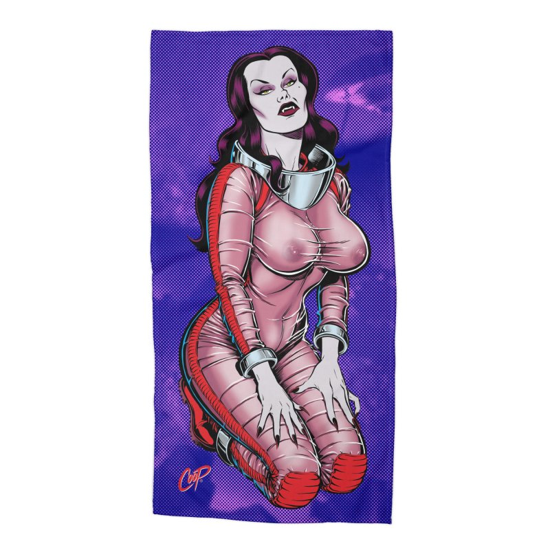 SPACE VAMPIRE Accessories Beach Towel by The Art of Coop