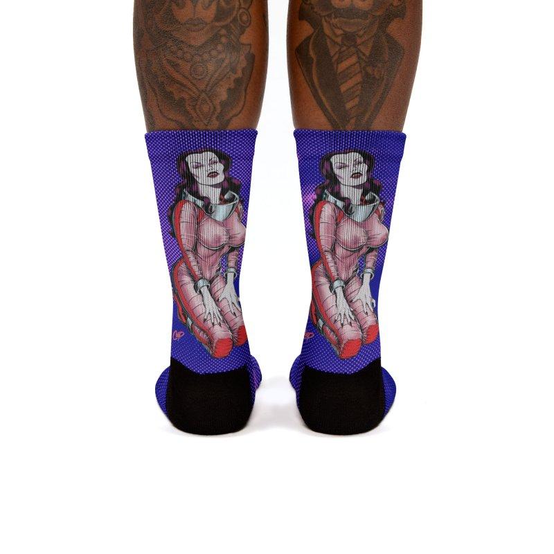 SPACE VAMPIRE Women's Socks by The Art of Coop