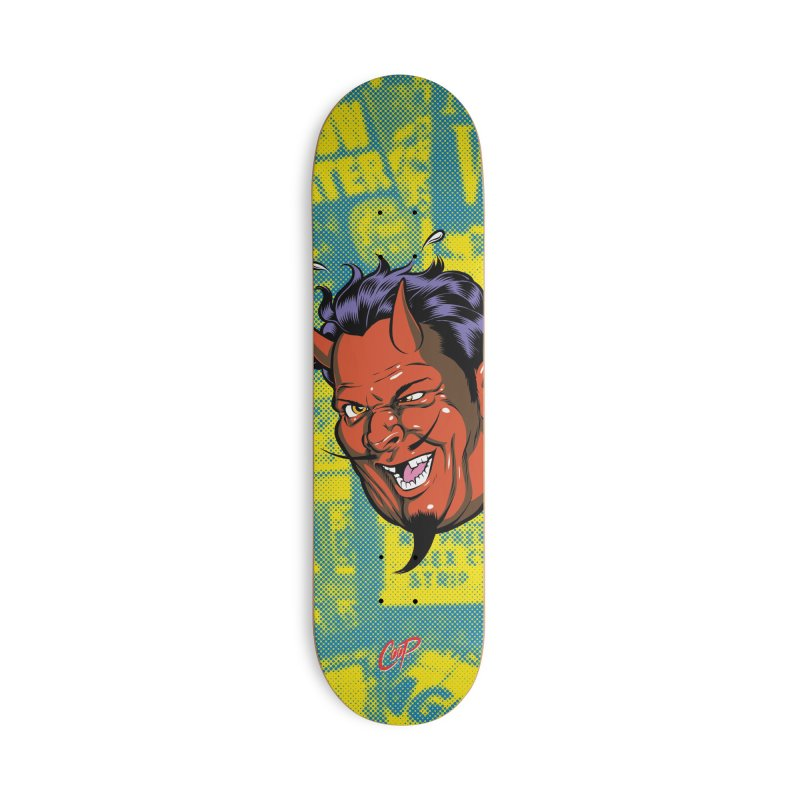 DRUNK DEVIL Accessories Skateboard by The Art of Coop