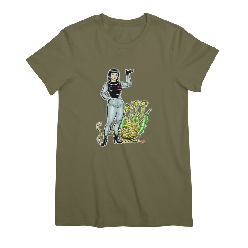 MISS NAMIKAWA Women's Premium T-Shirt by The Art of Coop