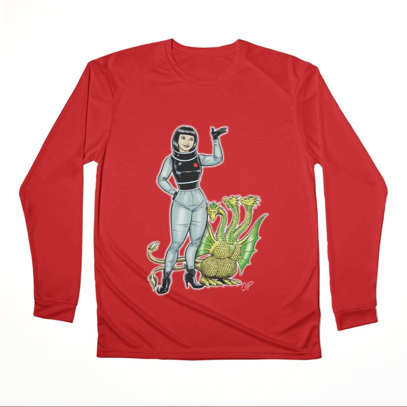 MISS NAMIKAWA Men's Performance Longsleeve T-Shirt by The Art of Coop