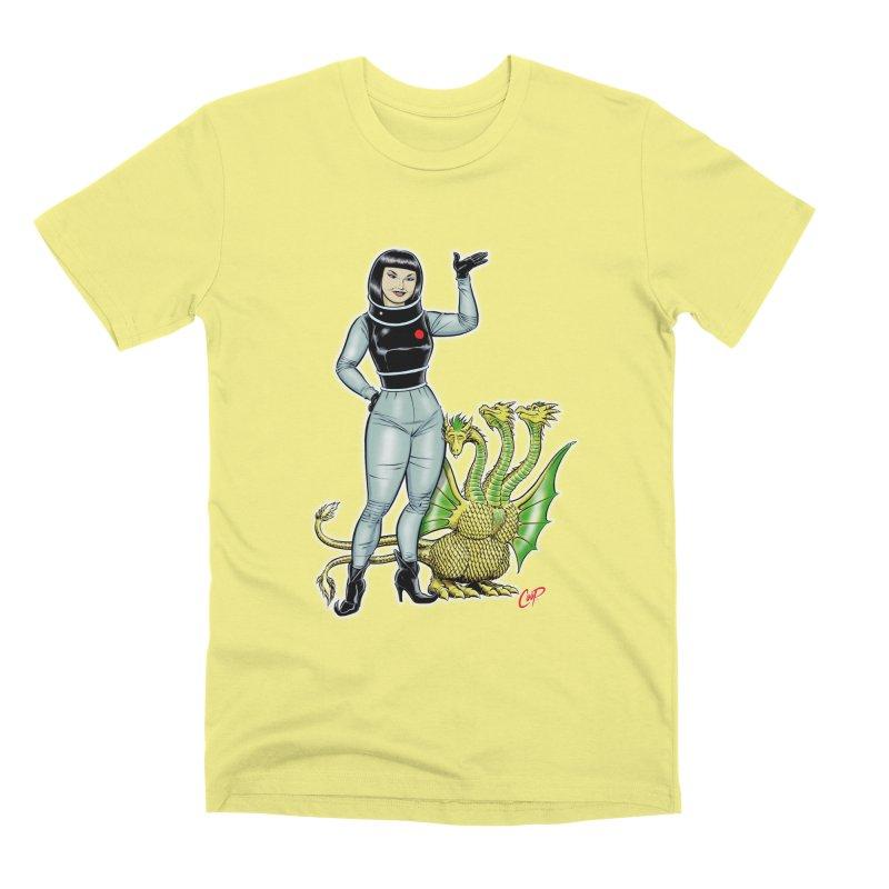 MISS NAMIKAWA Men's Premium T-Shirt by The Art of Coop