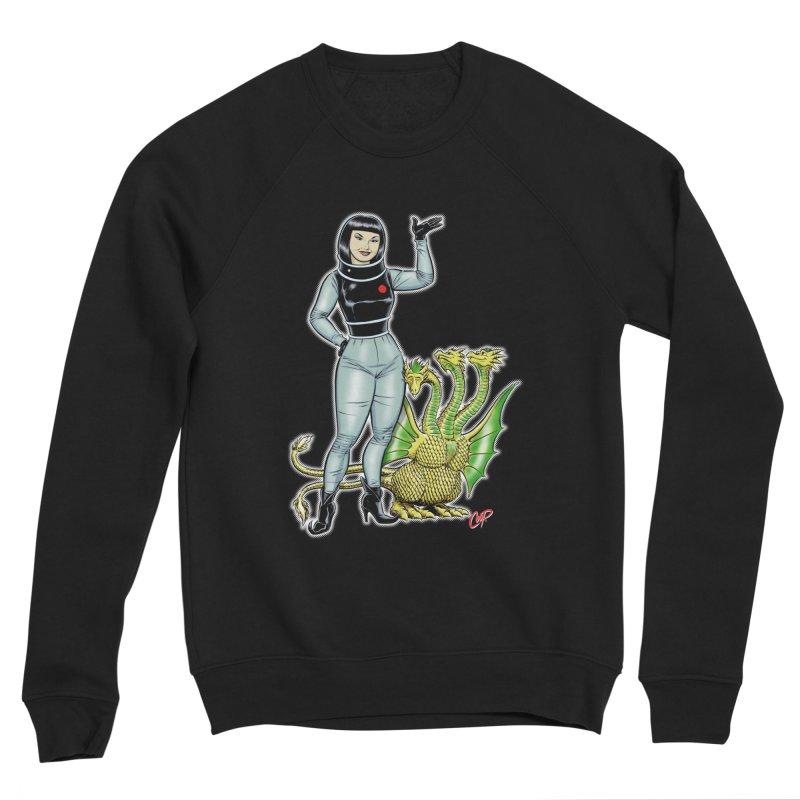 MISS NAMIKAWA Men's Sponge Fleece Sweatshirt by The Art of Coop