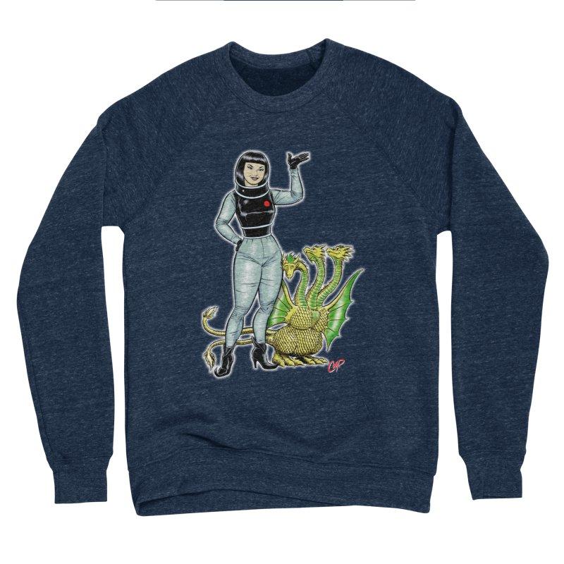 MISS NAMIKAWA Women's Sponge Fleece Sweatshirt by The Art of Coop