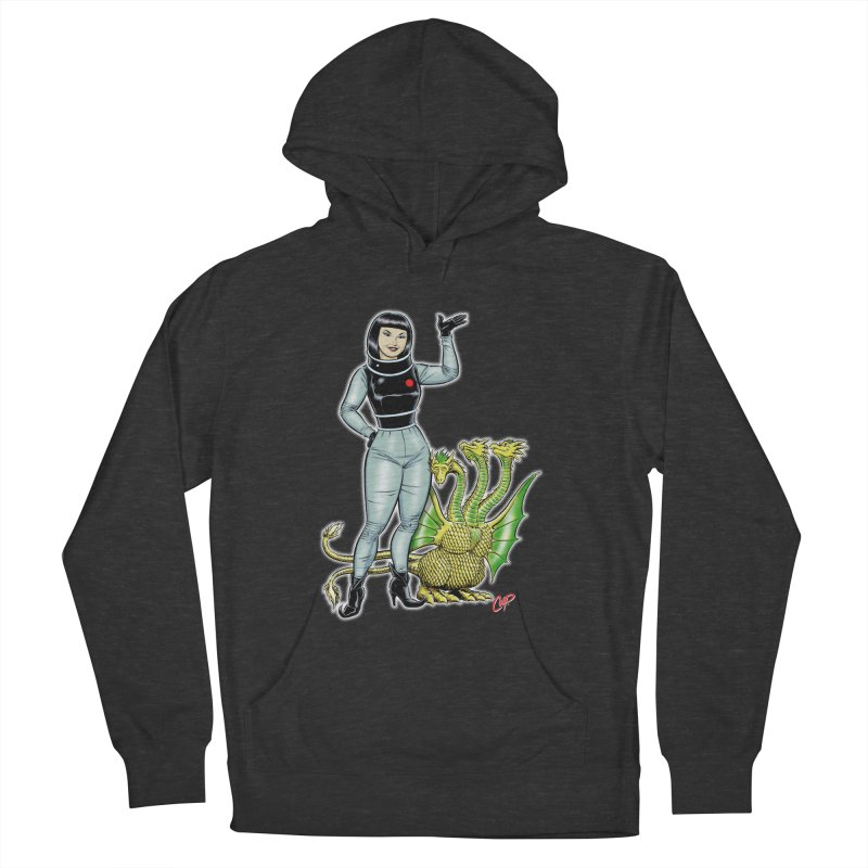 MISS NAMIKAWA Women's French Terry Pullover Hoody by The Art of Coop