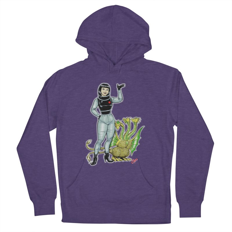 MISS NAMIKAWA Men's French Terry Pullover Hoody by The Art of Coop