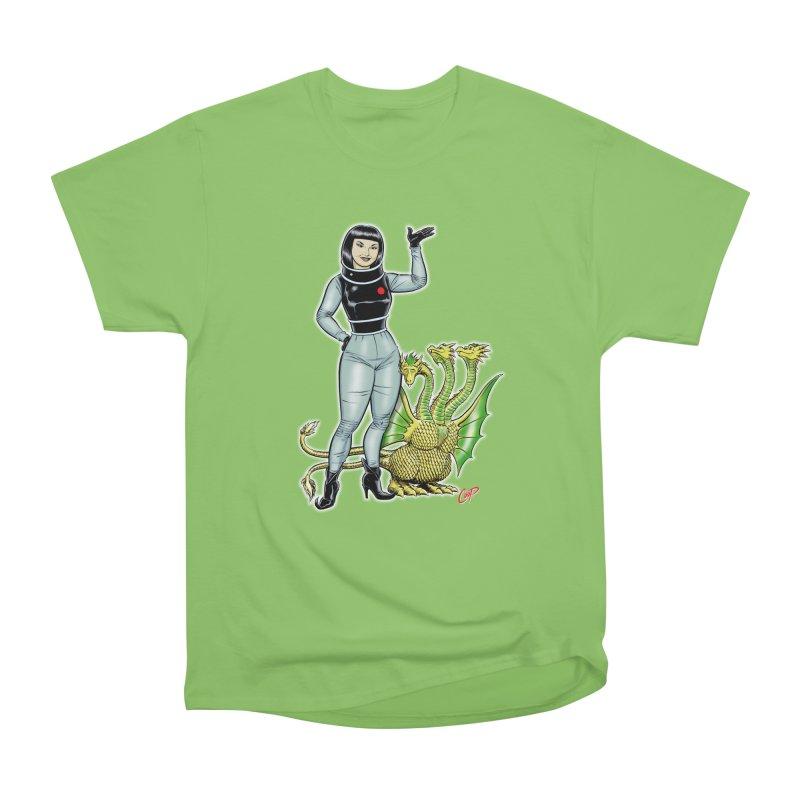 MISS NAMIKAWA Men's Heavyweight T-Shirt by The Art of Coop