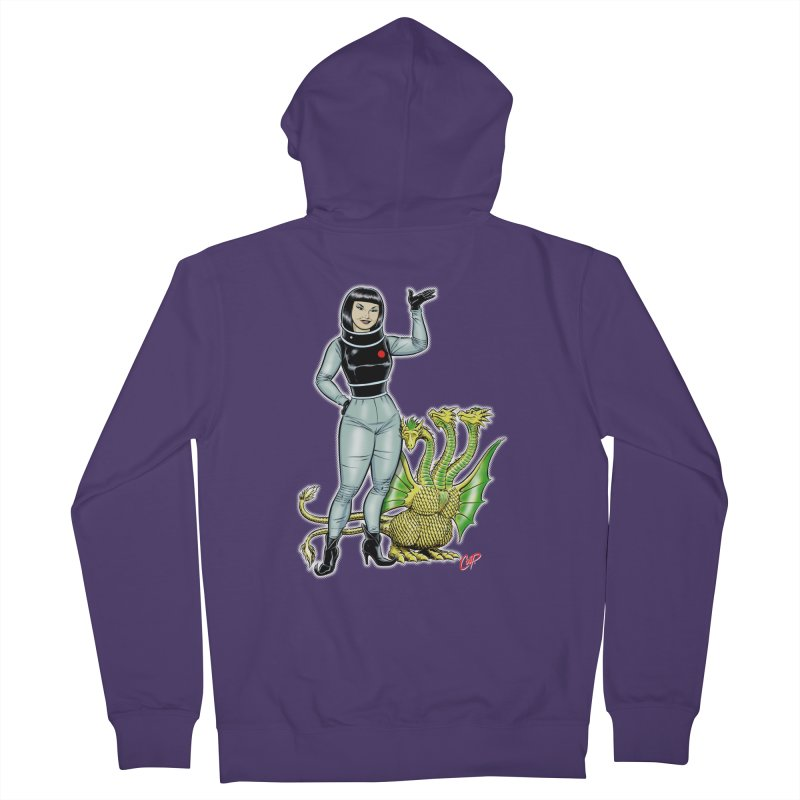 MISS NAMIKAWA Women's French Terry Zip-Up Hoody by The Art of Coop