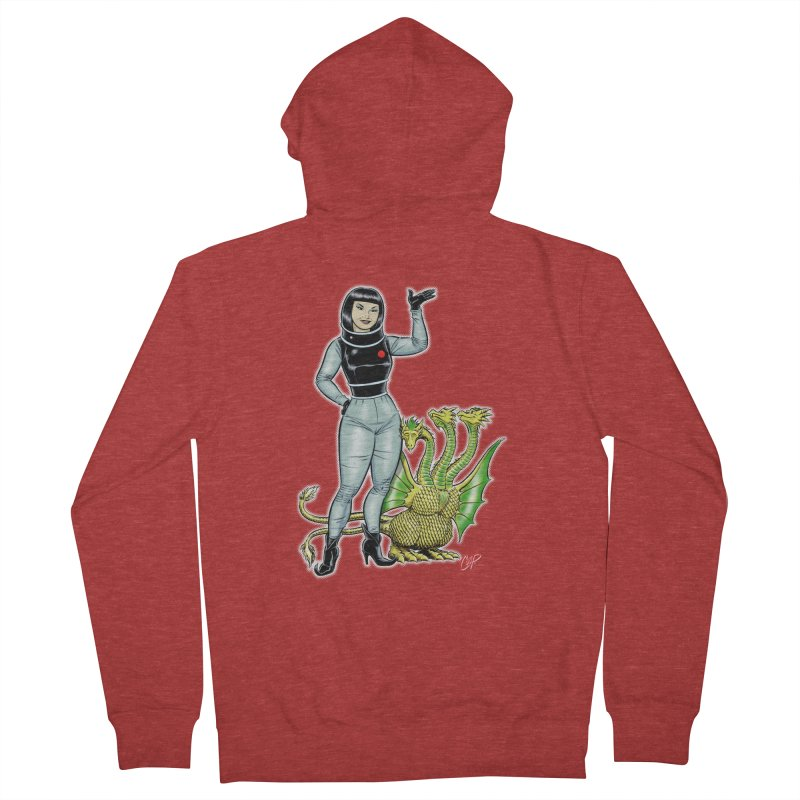 MISS NAMIKAWA Men's French Terry Zip-Up Hoody by The Art of Coop
