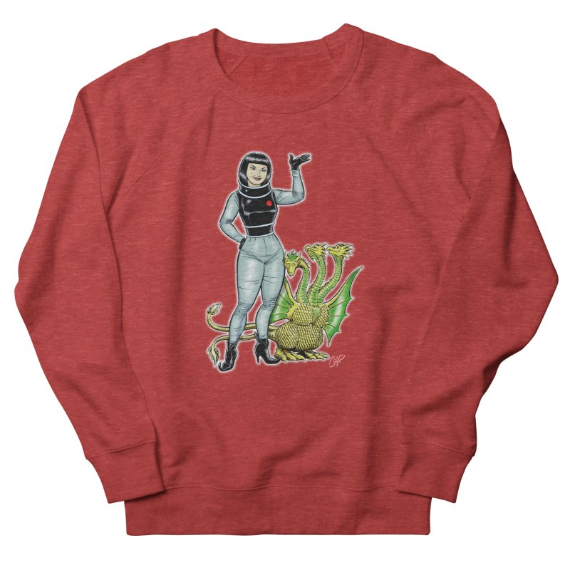 MISS NAMIKAWA Women's French Terry Sweatshirt by The Art of Coop