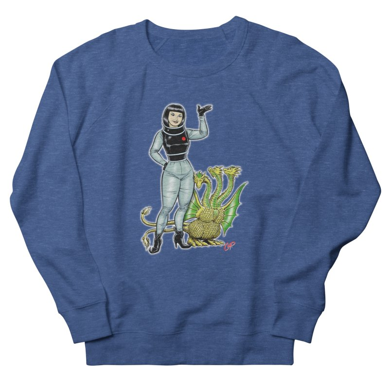 MISS NAMIKAWA Men's French Terry Sweatshirt by The Art of Coop