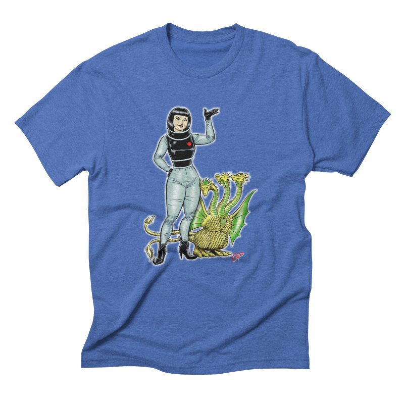 MISS NAMIKAWA Men's Triblend T-Shirt by The Art of Coop