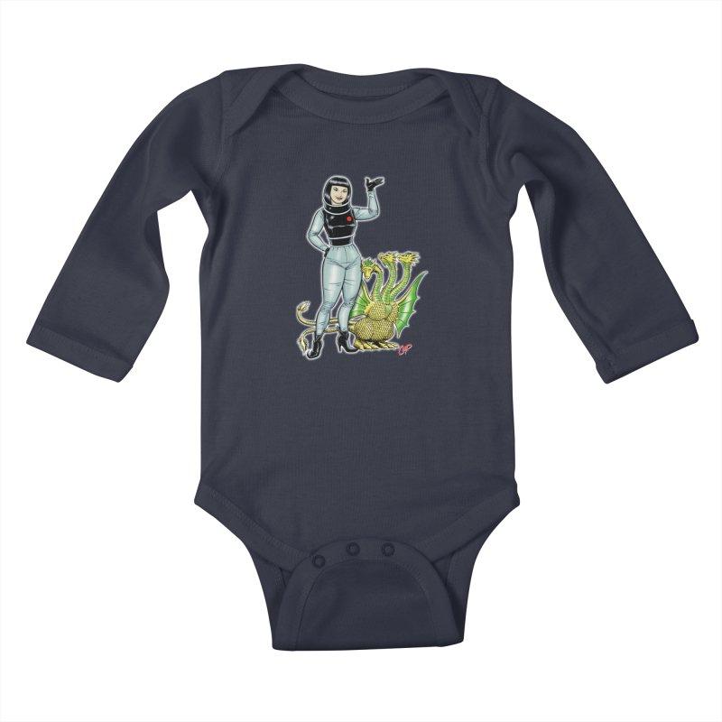 MISS NAMIKAWA Kids Baby Longsleeve Bodysuit by The Art of Coop