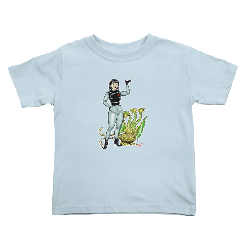 MISS NAMIKAWA Kids Toddler T-Shirt by The Art of Coop