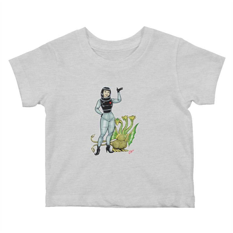 MISS NAMIKAWA Kids Baby T-Shirt by The Art of Coop