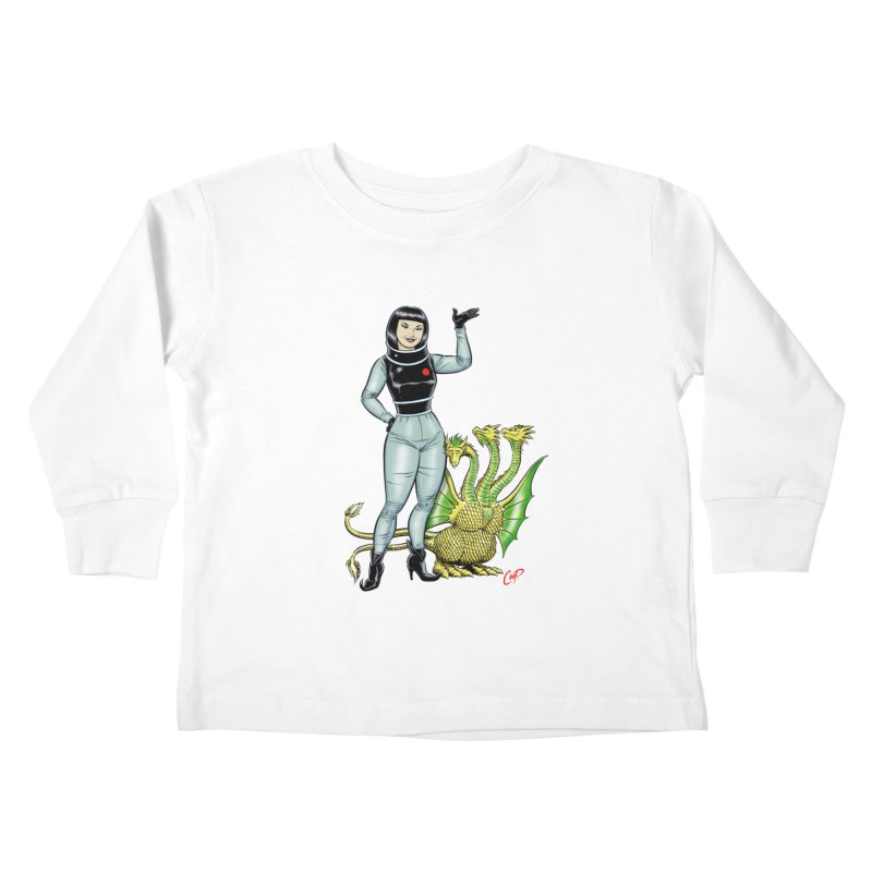 MISS NAMIKAWA Kids Toddler Longsleeve T-Shirt by The Art of Coop