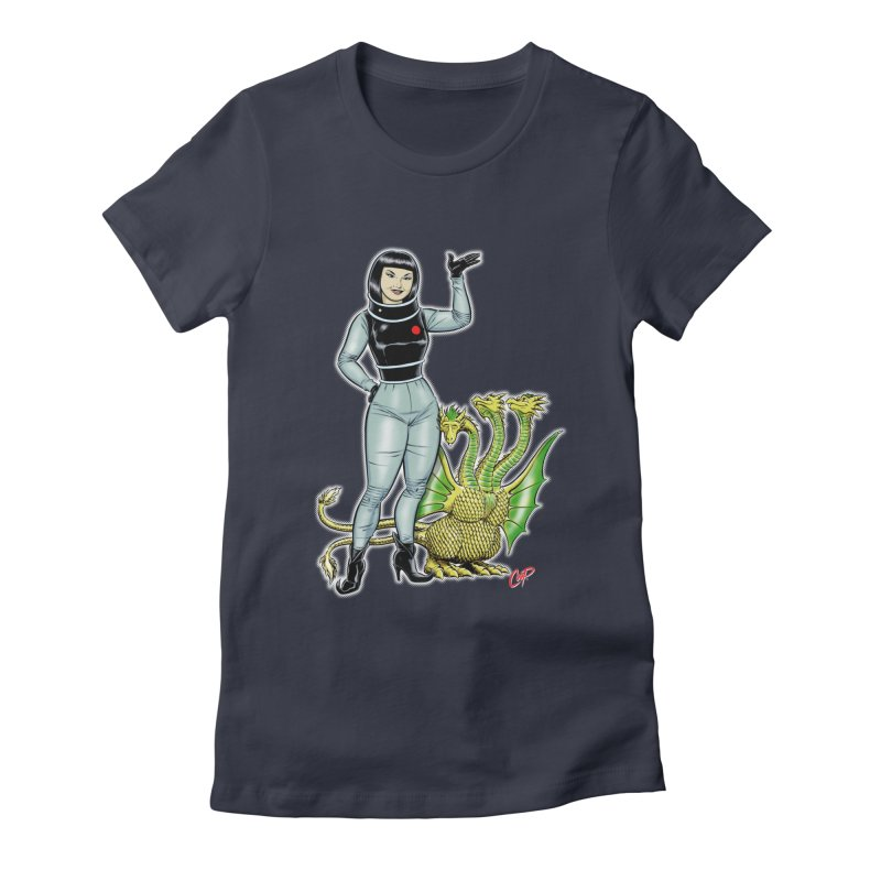 MISS NAMIKAWA Women's Fitted T-Shirt by The Art of Coop