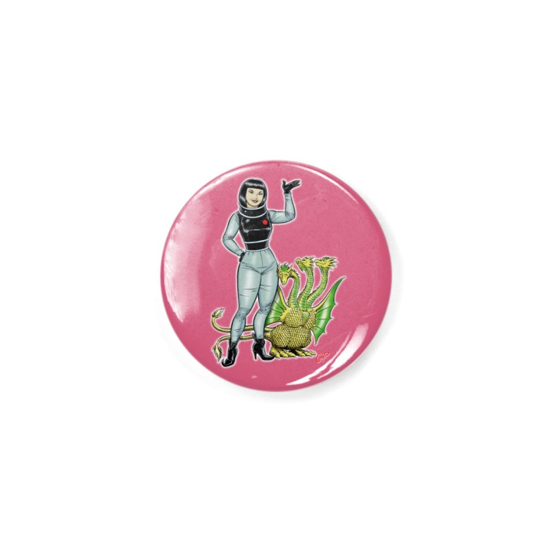 MISS NAMIKAWA Accessories Button by The Art of Coop